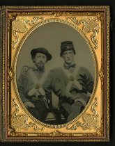 Image of Ambrotype - Ludwell Robinson Temple [tentative] and John Taylor Temple