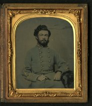 Image of Ambrotype - Unidentified Soldier