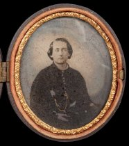 """Image of Tintype - Henry """"Harry"""" Hill"""