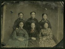 Image of Tintype - Unidentified Group [Women, believed from North Carolina]