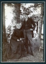 Image of Albumen - William L. Sheppard and Mrs. William L. Sheppard [Sallie McCaw Sheppard]