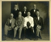 """Image of Unknown - Reunion of Survivors of """"Anson Guards"""" Co. C. 14th N.C. held at Wadesboro"""