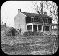 Image of Transparency, Lantern Slide - McLean House, Appomattox, Virginia