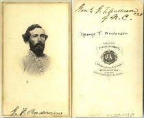 """Image of Carte-de-Visite - General George Thomas """"Tige"""" Anderson"""