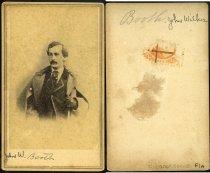 Image of Carte-de-Visite - John Wilkes Booth