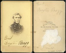 Image of Carte-de-Visite - General Braxton Bragg