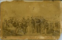 Image of Carte-de-Visite - Davis and Generals [The Generals of the Southern Forces]