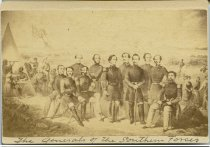 Image of Carte-de-Visite - The Generals of the Southern Forces