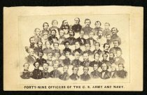 Image of Carte-de-Visite - Forty-Nine Officers of the C. S. Army and Navy