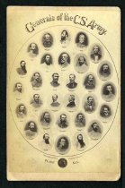 Image of Carte-de-Visite - Generals of the C. S. Army Plate No. 1