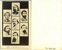 Image of Carte-de-Visite - Generals of the South, No. V