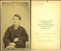 Image of Carte-de-Visite - John William Munson