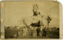 Image of Photograph, Cabinet - Robert E. Lee Monument, Prior to Unveiling, Richmond