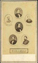 Image of Carte-de-Visite - Confederate Cabinet