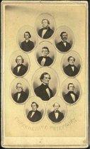 Image of Carte-de-Visite - Confederate Chieftains