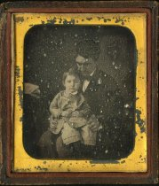 Image of Daguerreotype - Unidentified Man and Child