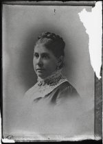 Image of Negative, Glass Plate - Mary Anna Morrison Jackson [Mrs. Thomas J. Jackson]