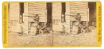 Image of Stereoview - Colored Pickets on duty near Dutch Gap