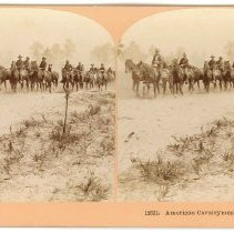 Image of Stereoview - American Cavalrymen, Tampa, Fla.