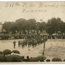 Image of Print, Photographic - 349th F.A. Band in France