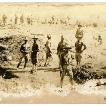 Image of Print, Photographic - Digging Trenches