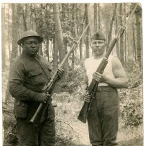 Image of Print, Photographic - Unknown African American Soldiers