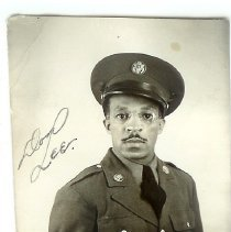 Image of Print, Photographic - Mr. Lee in uniform
