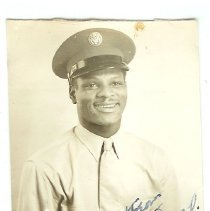 Image of Print, Photographic - Smiling soldier