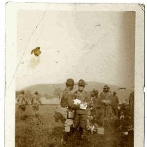 Image of Print, Photographic - Unidentified  Soldiers
