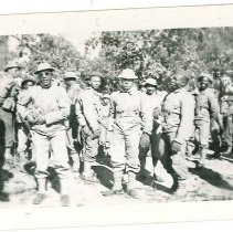Image of Print, Photographic - Unidentified African American Soldiers