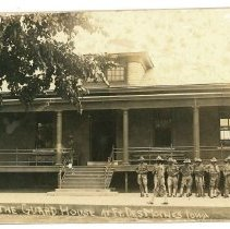 Image of Print, Photographic - The Guard House at Ft. Des Moines, Iowa