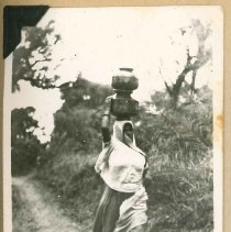 Image of Print, Photographic - Unidentified Village Woman