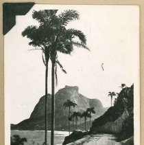 Image of Print, Photographic - Unidentified Seaside Road