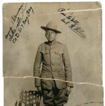 Image of Print, Photographic - Earl H. Wilson, Company D, 317th Engineers