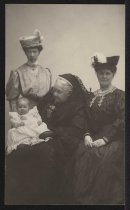 Image of Photograph - Four Generations of Davis Women