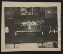 Image of Print, Photographic - Altar at St. Peter's-by-the-Sea Church, Narragansett, Rhode Island