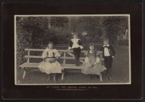 Image of Photograph, Cabinet - Four Children of Mrs. Hayes