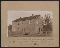 Image of Photograph - House in Which the Secession Legislature of Missouri Met