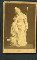 Image of Carte-de-Visite - Virginia Mourning Her Dead