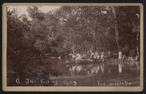 Image of Photograph, Cabinet - A Jan. Fishing Party, Fort Meade, Florida