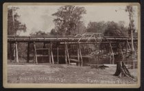 Image of Photograph, Cabinet - Peace River Bridge, Fort Meade, Florida