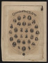 Image of Print, Photographic - Generals of the C. S. Army Plate No. 1