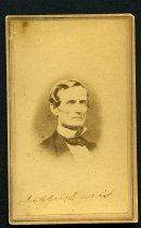 Image of Carte-de-Visite - Jefferson Davis