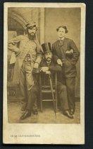 Image of Carte-de-Visite - Thomas Lardner Dornin, John F. Ramsay, and Hilary Cenas
