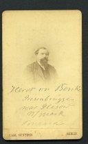 Image of Carte-de-Visite - Johann August Heinrich Heros Von Borcke