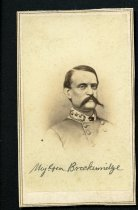Image of Carte-de-Visite - Major General John Cabell Breckinridge