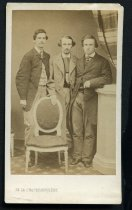 Image of Carte-de-Visite - Joseph Peyton Claybrook, Robert Alexander Camm, and William Pinckney Mason(?)