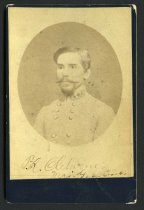 Image of Cabinet Card - Major General Patrick Ronayne Cleburne