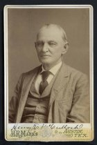 Image of Cabinet Card - Henry Eustace McCulloch