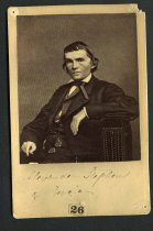Image of Cabinet Card - Alexander Hamilton Stephens